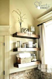 distressed floating shelf thick wood shelves large size of shelving reclaimed