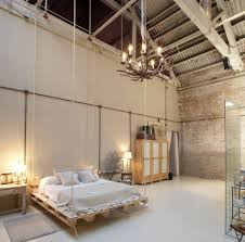 Bedroom Designs: Scandinavian Look Bedroom With Exposed Brick - Brick