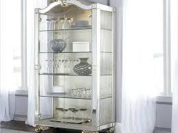 white curio cabinet glass doors image of modern contemporary curio cabinets ideas white corner curio cabinet