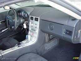 Dark Slate Grey Interior 2005 Chrysler Crossfire SRT-6 Roadster ...