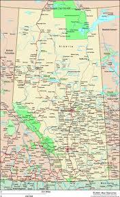 alberta canada political wall map  mapscom