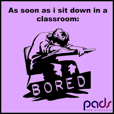 Pads For Students On Twitter Studentlife Funny Quotes Bored