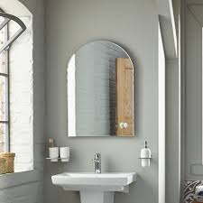 Watertec Arch Bathroom Mirror 700 X 500 bathstore