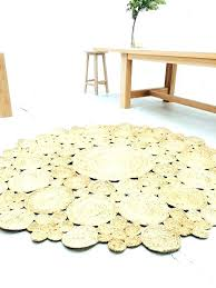 A 8 Ft Round Outdoor Rug Cool Awesome Braided Jute  Area