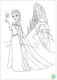 Disney Frozen Coloring Pages Elsa At Getdrawingscom Free For