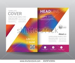 Creative Geometric Bi Fold Brochure Design Template - Download Free ...
