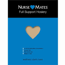 Full Support Hosiery Nearly Nude Nurse Mates Womens