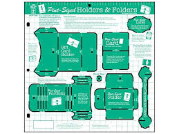 great papers templates hot off the press templates pint sized holders folders 1