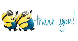 Image result for Thank you minions for your support
