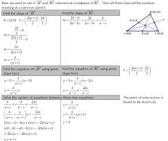 c proof by coordinates formal classic approach