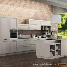 OP14 106: Transitional Natural Ash Solid Wood Kitchen Cabinet