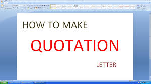 Quote Format Custom Price Quotation Letter Format In Excel Refrence Microsoft Excel How
