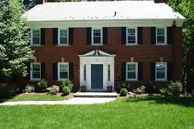 red front door on brick house. Brick Houses Awesome Red Front Door On House For Top Colonial Maplewood Homes And