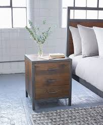 warehouse style furniture. Industrial Style Bedroom Furniture Three Drawer Bedside Cabinet Warehouse P