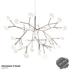 moooi heracleum ii led flower chandelier