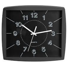 today toronto wall clock black 22 x