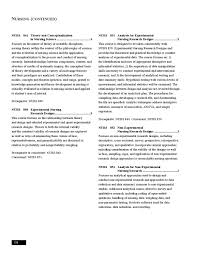 Experimental Design In Nursing Research Graduate School Catalog 2012 2014 By University Of Maryland