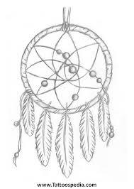 Dream Catcher Outline Dreamcatcher Tattoo Outline 100 17