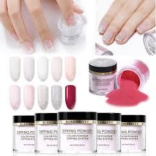 dels about 10 color nail dipping powder natural long lasting french nail acrylic powder