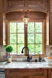 kitchen sink lights pendant arch over bar lighting ideas above light