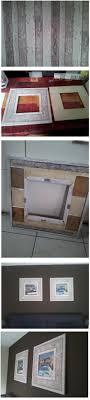 Fotolijsten Met Sloophout Behang 60 X 60cm Foto Geplaatst Door