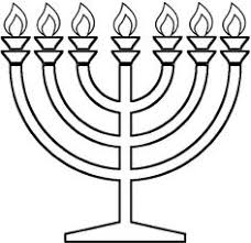Small Picture Hanukkah Coloring Pages Menorahs coloring pages Pinterest