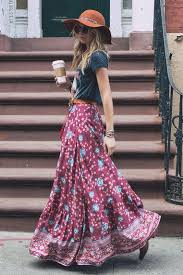 Gorgeous maxi skirts outfits ideas Crop Top Maxi Skirt Styles Weekly 16 Beautiful Maxi Skirt Outfits For Summer Styles Weekly