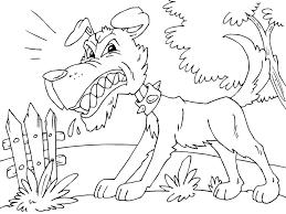 Disegno Da Colorare Cane Arrabbiato Cat 22679 Images