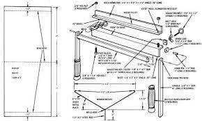 sheet metal bender plans. outstanding 2 homemade sheet metal bender plans folder g