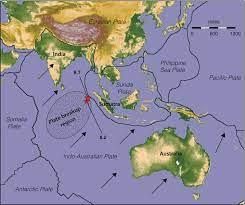 Oceano Indiano Cartina