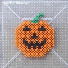 Perler Bead Patterns Mesmerizing Halloween Perler Bead Patterns Frugal Fun For Boys And Girls