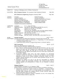 Bunch Ideas of Sample Resume puter Science Graduate Also Download Resume