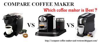 Compare Coffee Makers On The 2016 Market And Reviews Keurig Vs