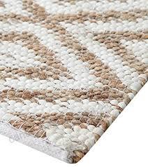 warisi corchorous collection gold argyll diamond chevron pattern nature fiber jute cotton handmade