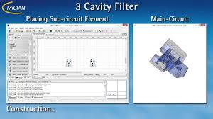 Cavity Filter Design Basics Cavity Filter Youtube