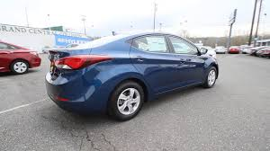 hyundai elantra 2015 blue.  Hyundai 2015 Hyundai Elantra  Lakeside Blue FU453717 Skagit County Mt Vernon   YouTube In T