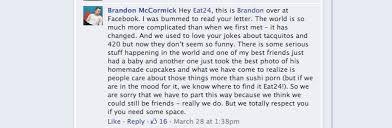Eat24 Sends Facebook Funny Break Up Letter Over Decline In Post