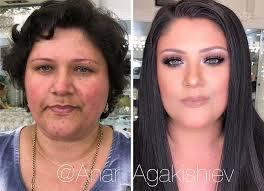 anar agakishiev older women make up transformations azerbaijan