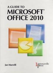 a guide to microsoft office 2010 open library cover of a guide to microsoft office 2010 jan marrelli