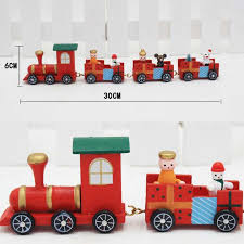 outdoor train decoration lovely lovely charming 4 piece little train wood train ornament of