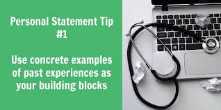 Personal Statement Tip The Building Blocks Of A Personal Statement Inpression Editing