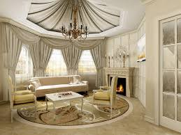 design classic lighting. Modern Classic Living Room Design Interior For Home With Various Color Lighting