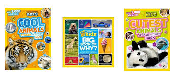 national geographic kids books boredom buster prize pack review giveaway