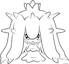 Coloriage Pokemon Noir Et Blanc Vorasterie Dessin