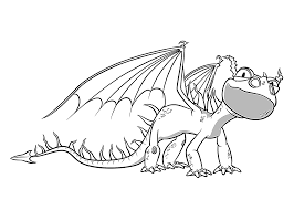 Terrible Terror Dragon Coloring Pages For Kids Printable Free Ruva