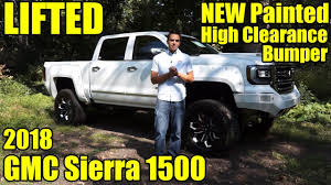 2018 gmc lifted.  2018 lifted 2018 gmc sierra 1500 new bodycolor painted high clearance bumper  custom fenders u0026 exhaust to gmc lifted c