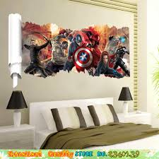 Marvel Superhero Bedroom Online Buy Wholesale Superhero Bedroom From China Superhero