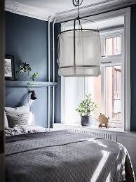 blue bedrooms. Moody Blue Bedroom Inspiration / My Scandinavian Home Bedrooms