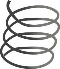 metal spring clip art. spring clip art at clker.com - vector online, royalty free \u0026 public domain metal