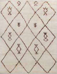 rugsville beni ourain moroccan ivory black 13752 rug 13752